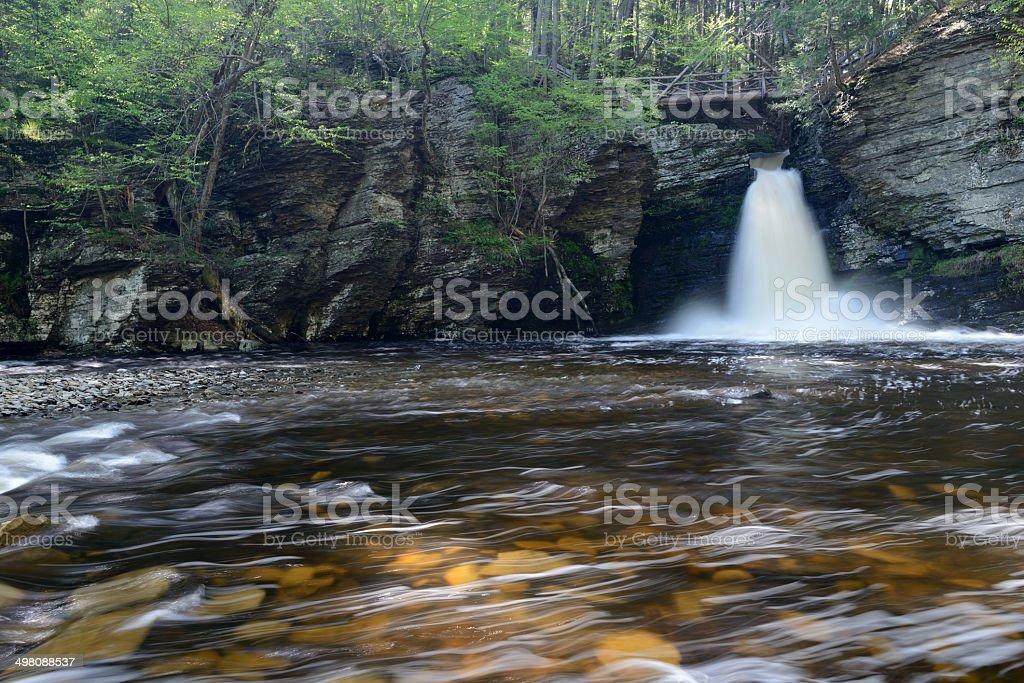 Deer Leap Falls stock photo