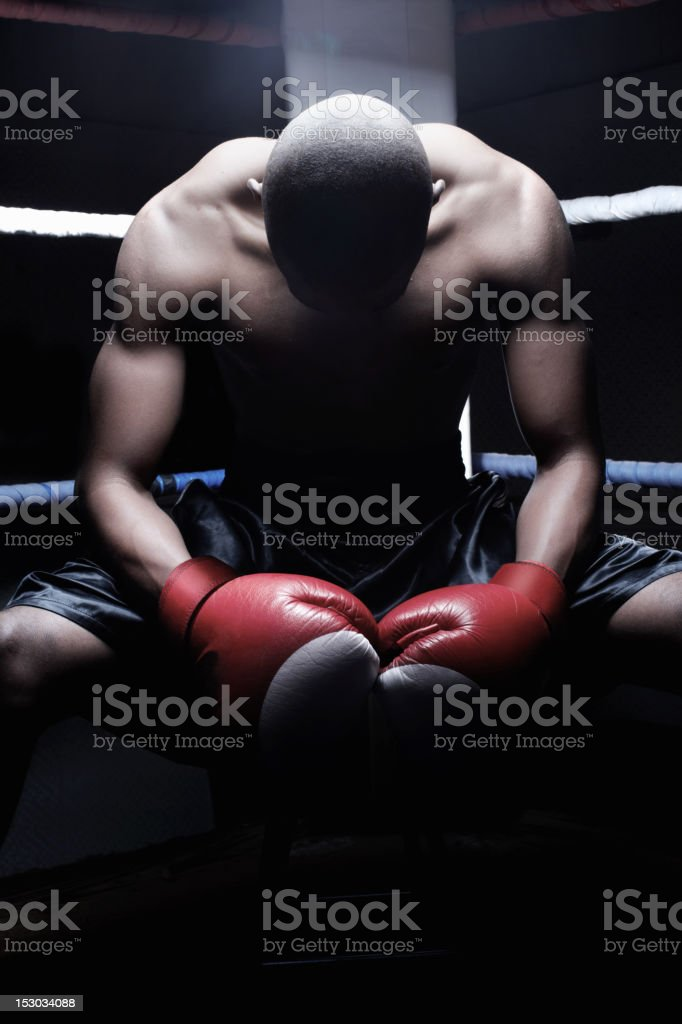 Defeat is not an option royalty-free stock photo