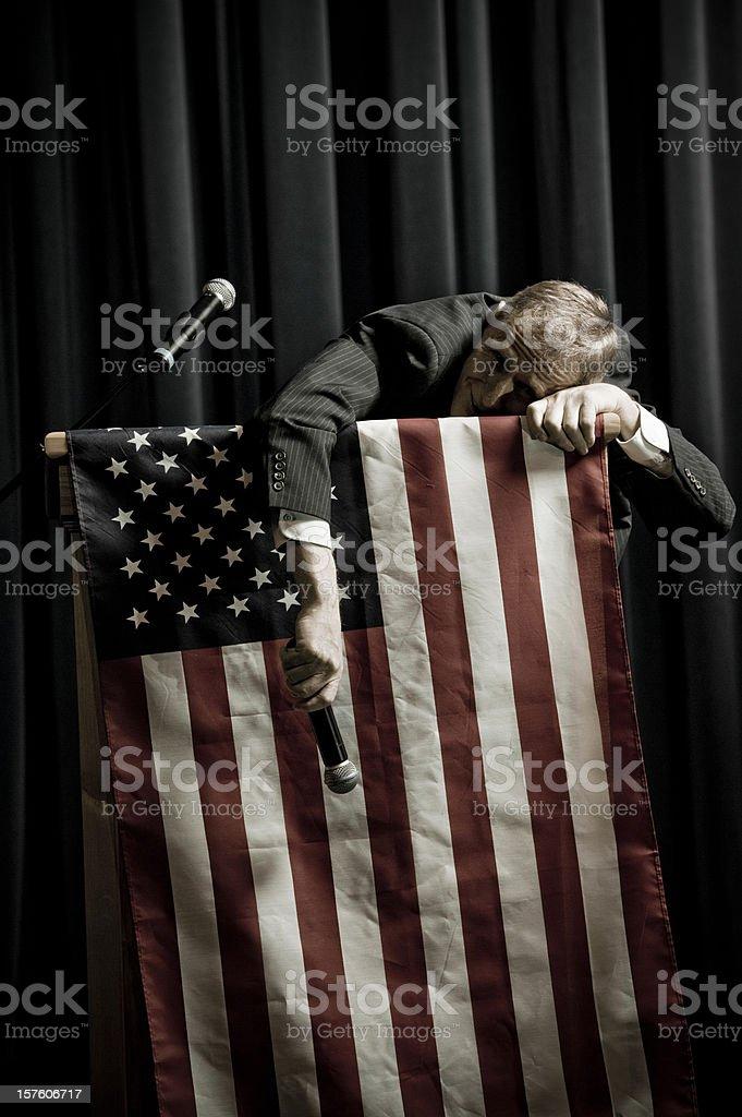 Defeat royalty-free stock photo