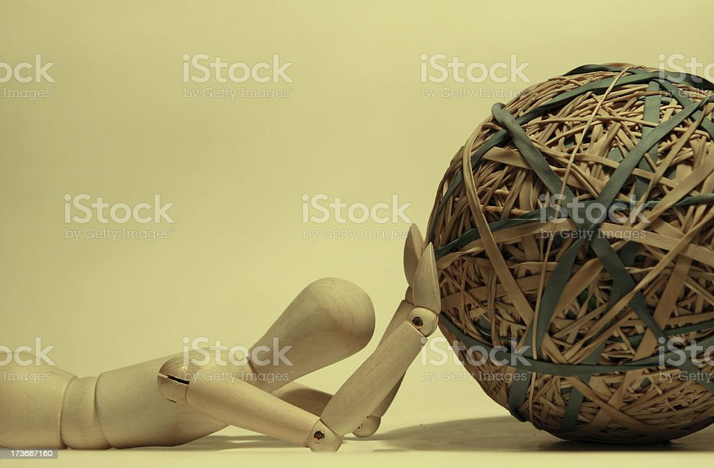 Defeated stock photo