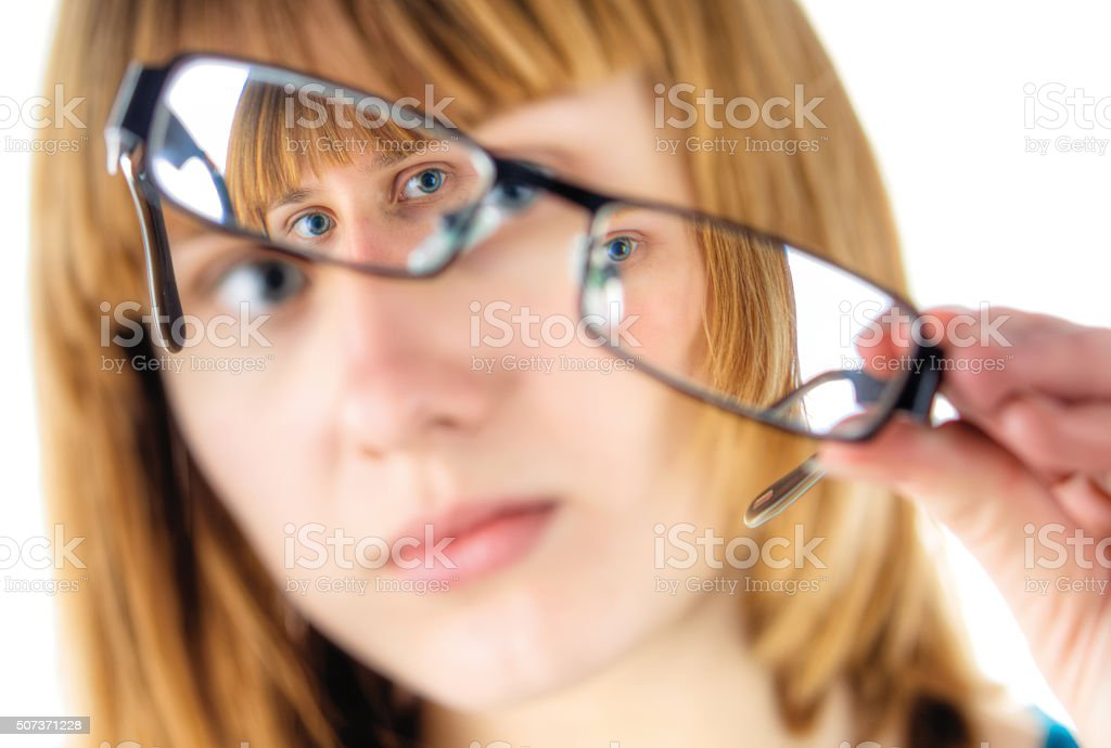 Defect Of Vision stock photo