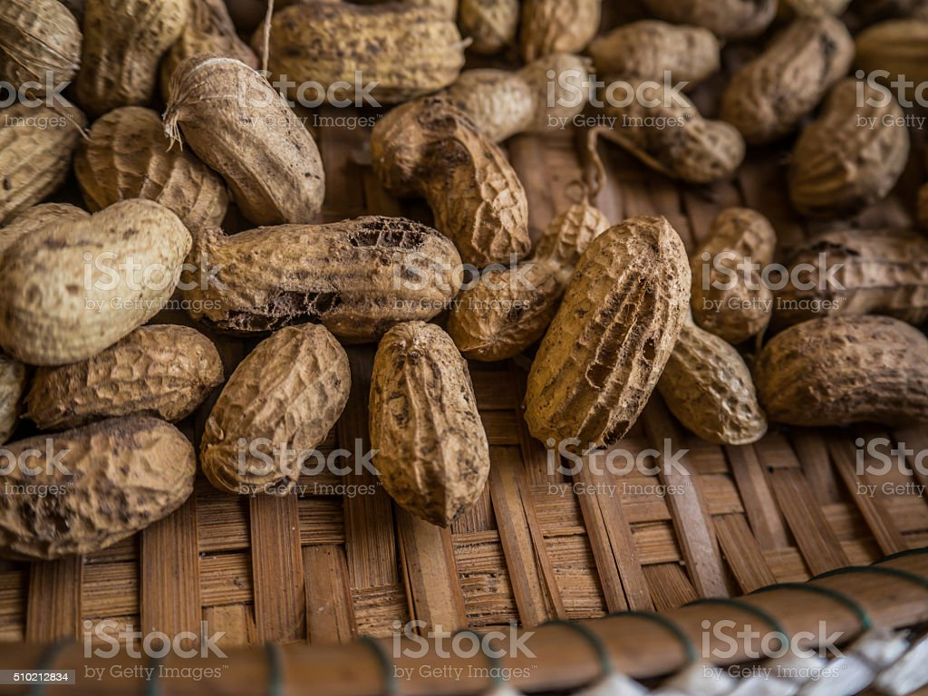 defect or disease ground nut stock photo