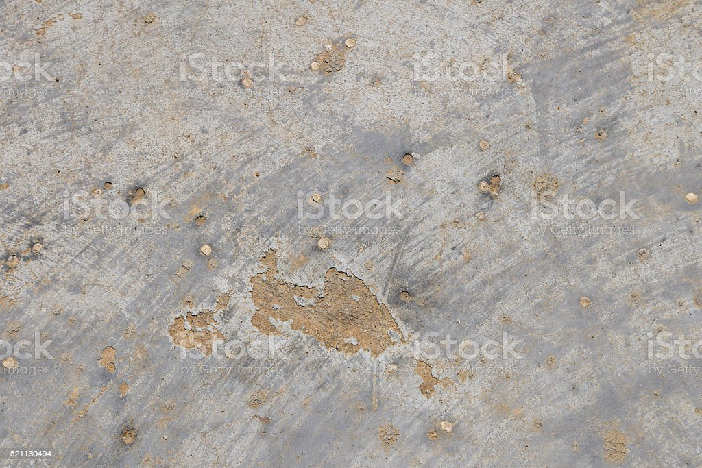 Defects in grunge concrete wall or floor royalty-free stock photo