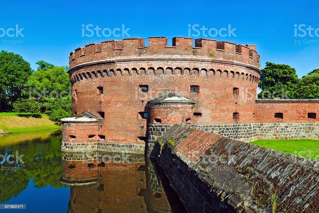Defensive tower Dohna. Kaliningrad (formerly Koenigsberg), Russi stock photo