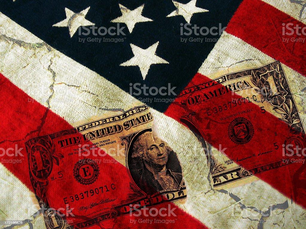 U.S Deficit royalty-free stock photo