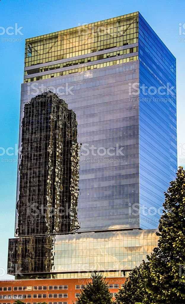 Defined by Reflections stock photo