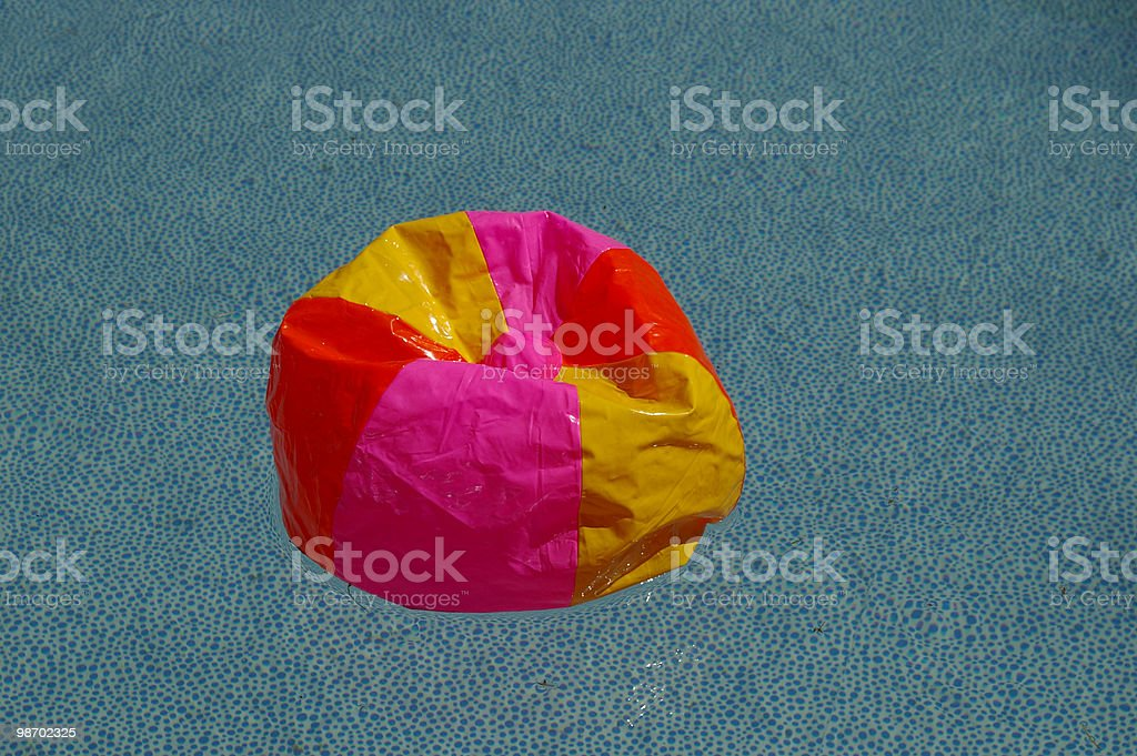 Deflated royalty-free stock photo