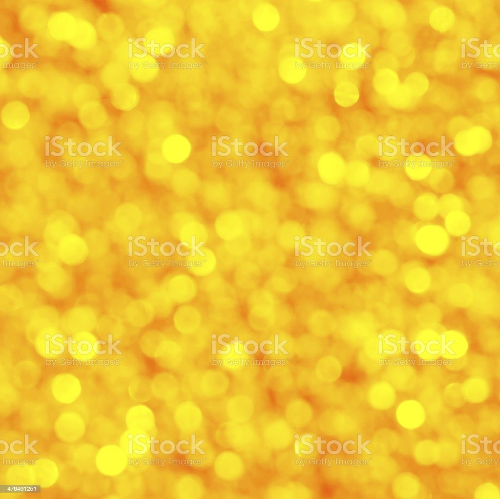 Defocus Light - golden yellowish royalty-free stock photo