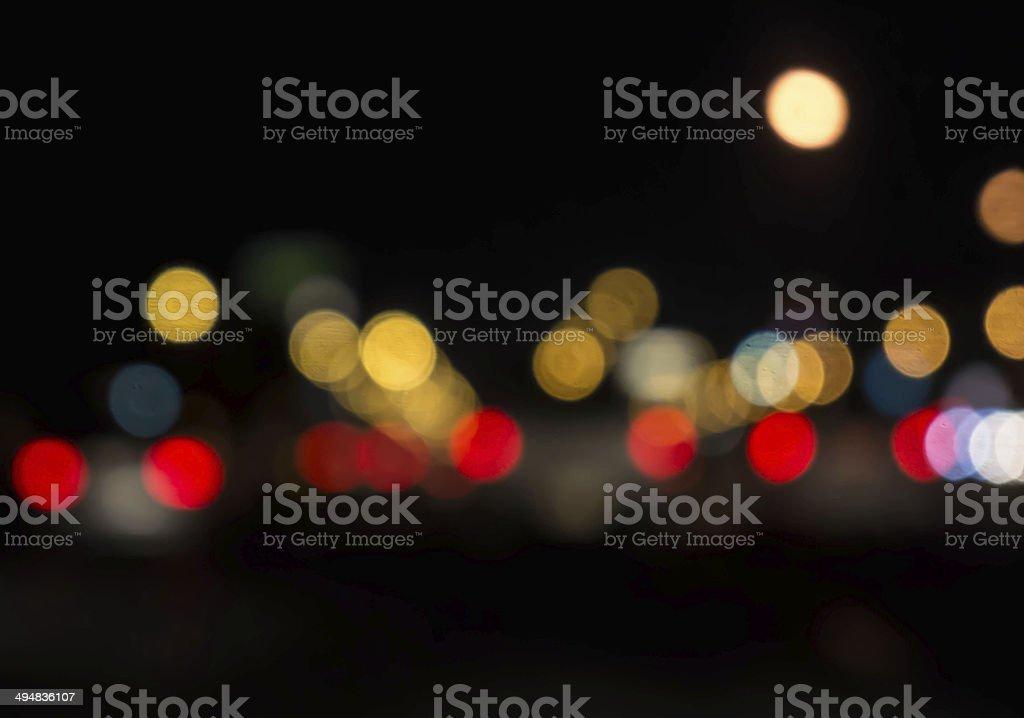 defocus light stock photo