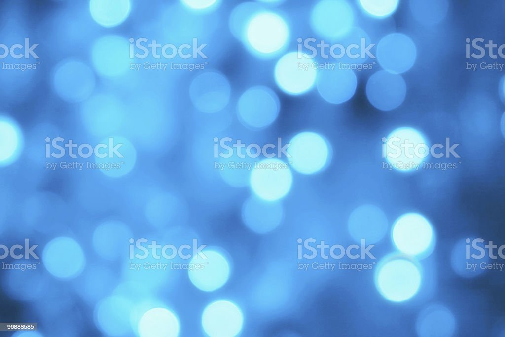 Defocus of blue lights royalty-free stock photo