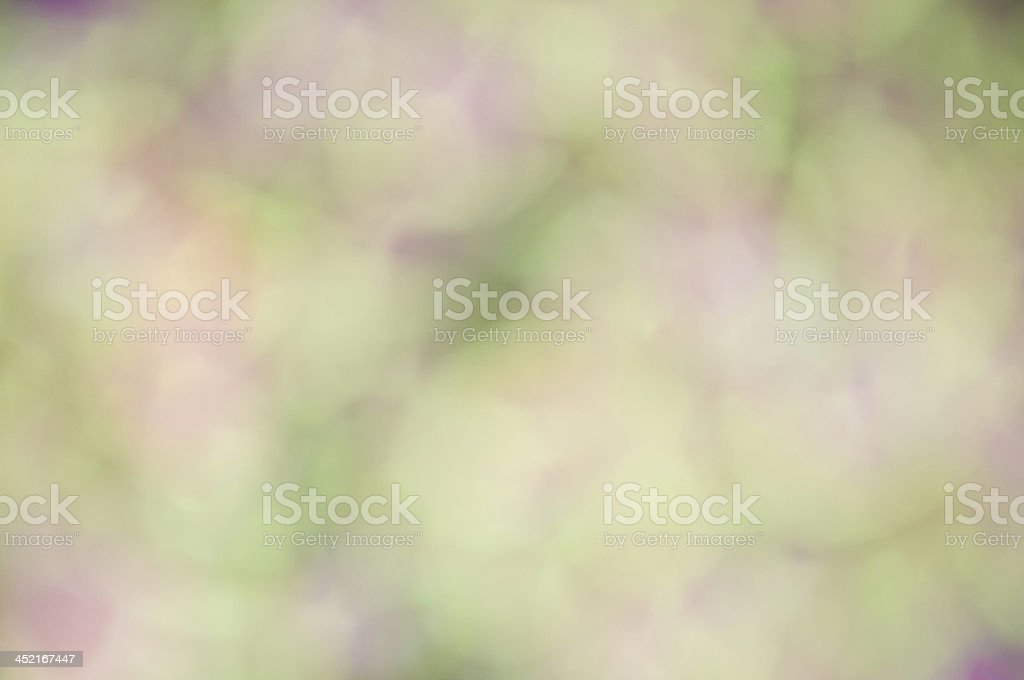 Defocus of green and violet light royalty-free stock photo