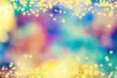 Defocused Abstract Background Multi Color