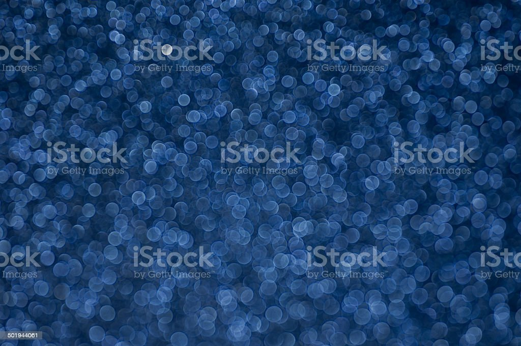 defocused abstract dark blue lights background stock photo