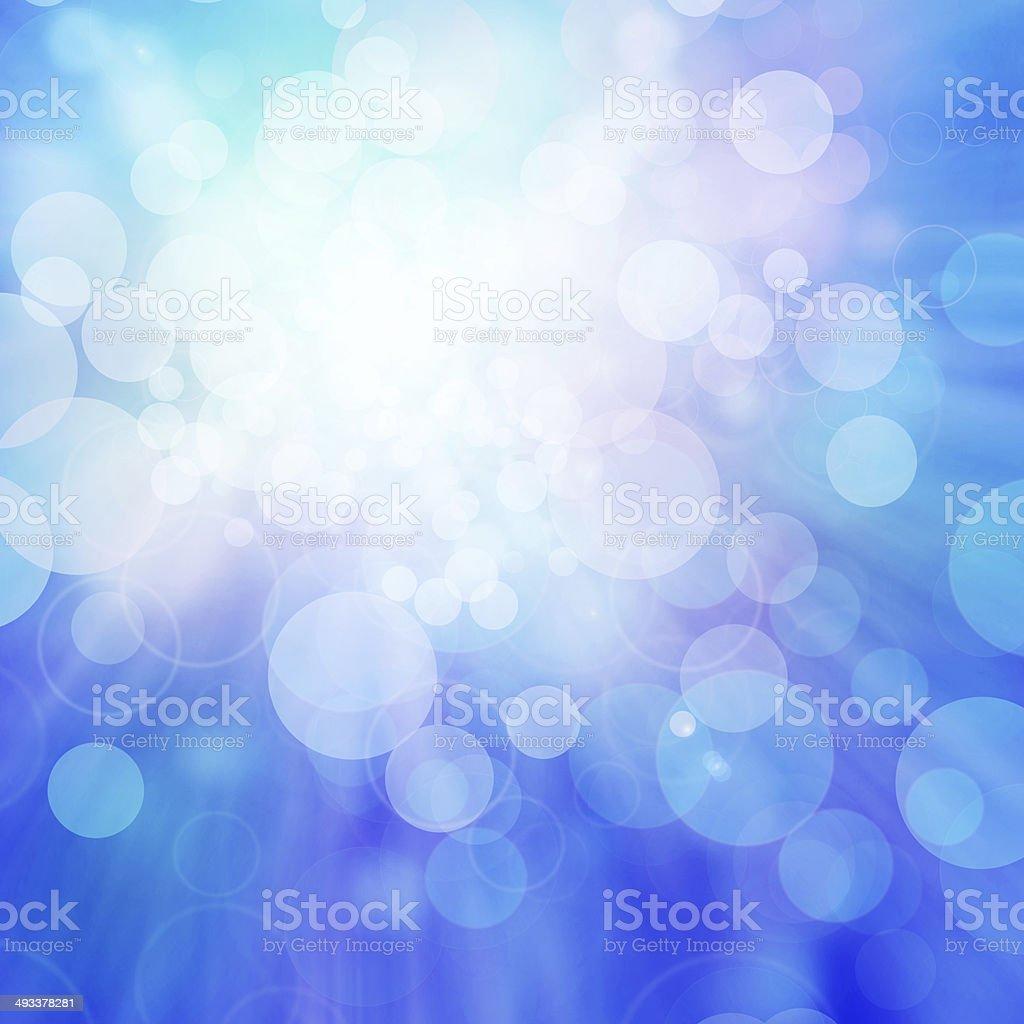 Defocused background in blue, teal, purple stock photo