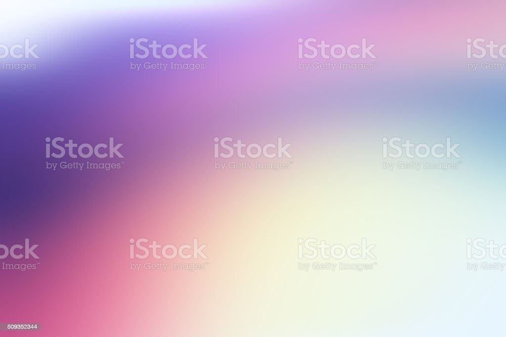 Defocused Blurred Blue Purple Green Abstract Background stock photo