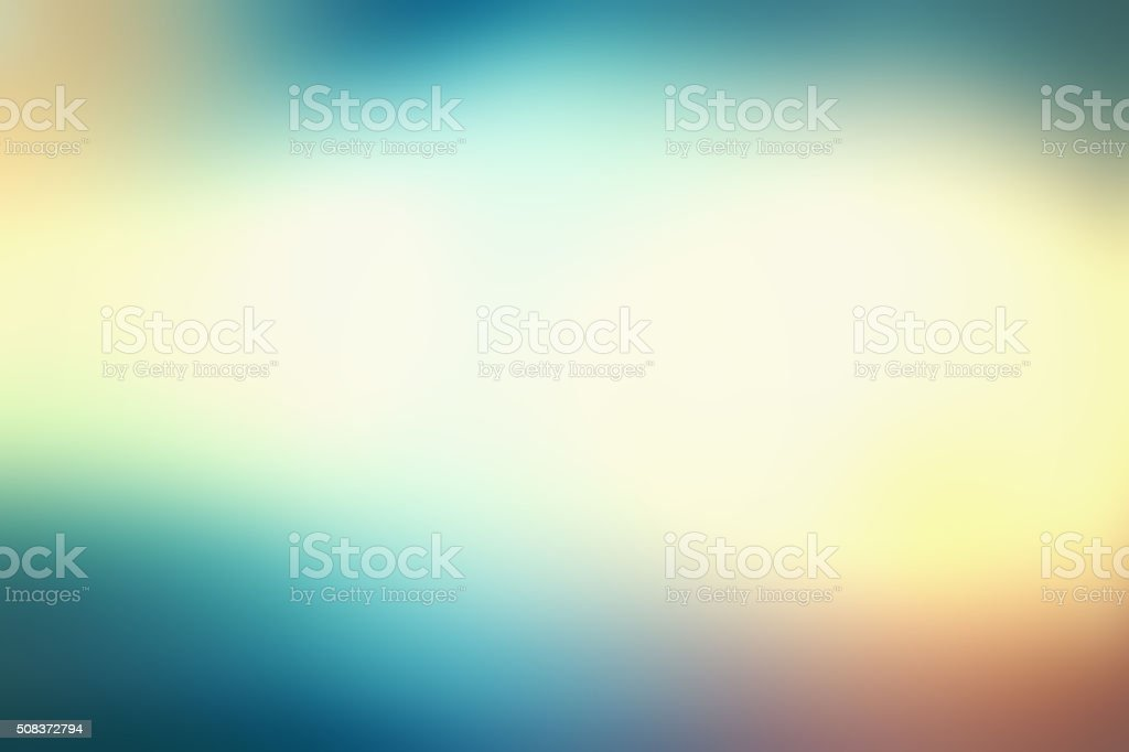 Defocused Blurred Green Yellow Abstract Background stock photo