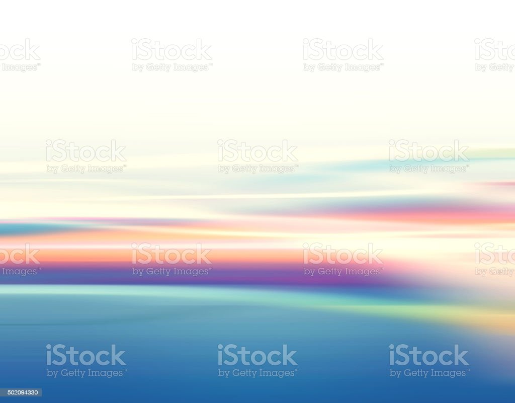 Defocused Blurred Motion Abstract Background Multi Colored stock photo