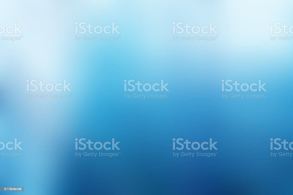 Defocused Blurred Abstract Background Blue stock photo