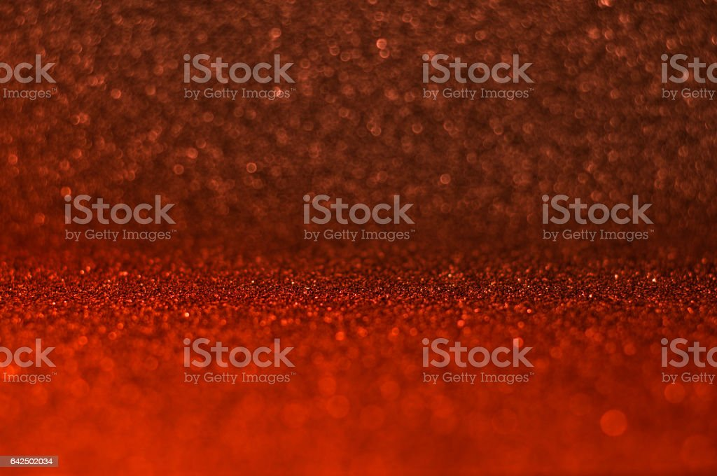 Defocused Bokeh light. Abstract Red background stock photo