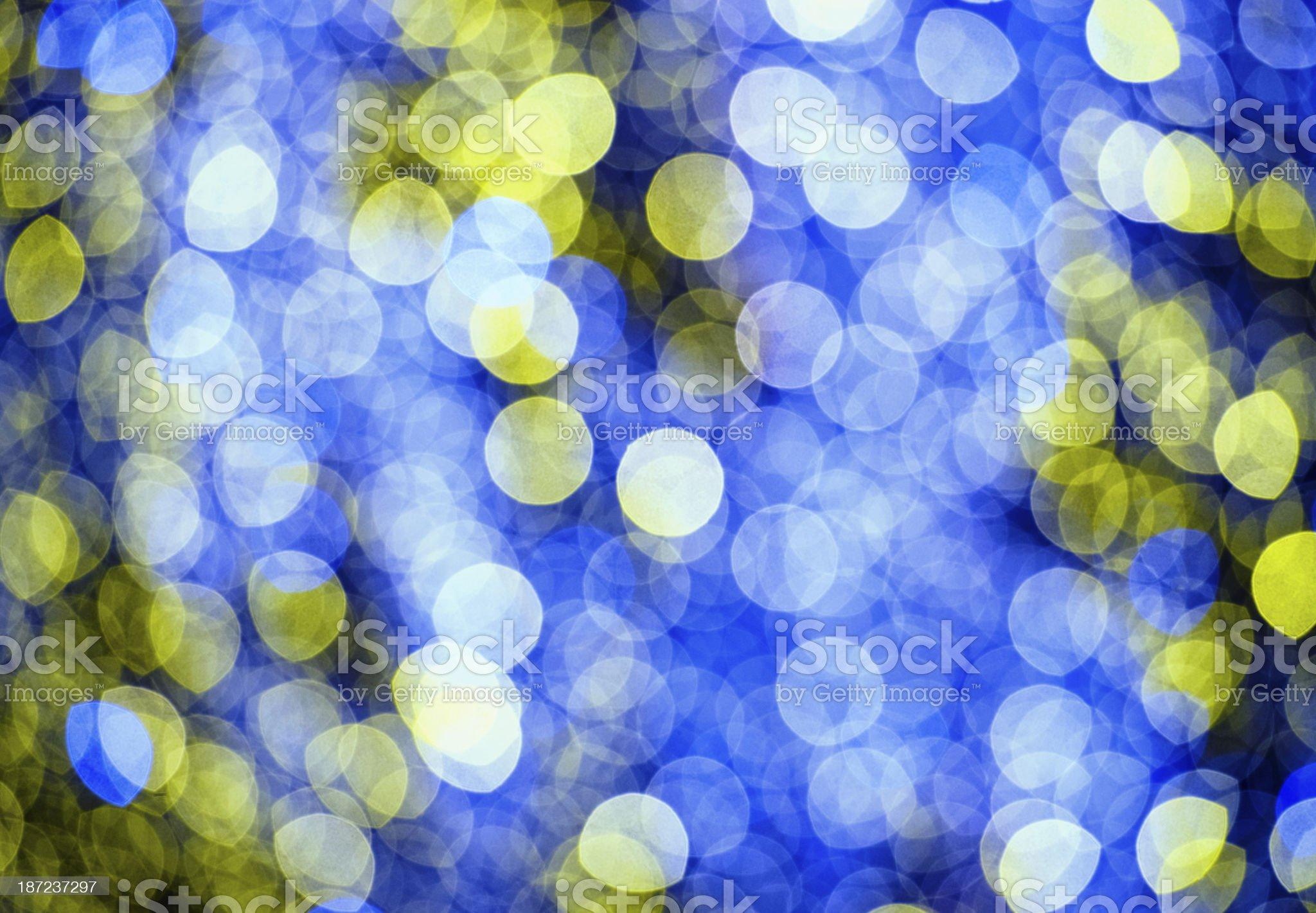 Defocused Christmas Lights Background royalty-free stock photo