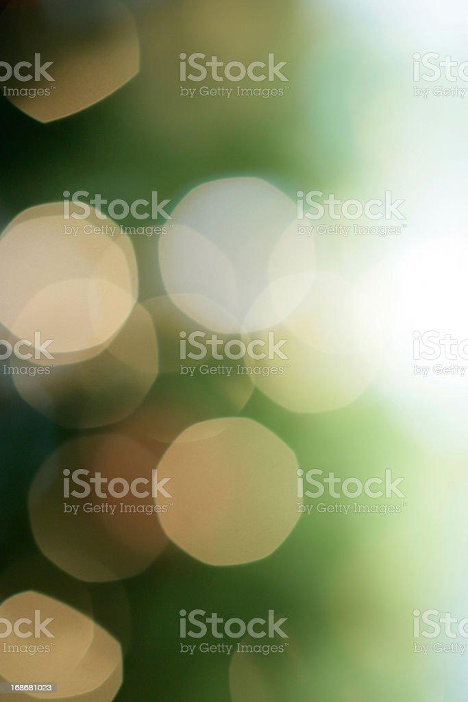 Defocused Christmas tree stock photo