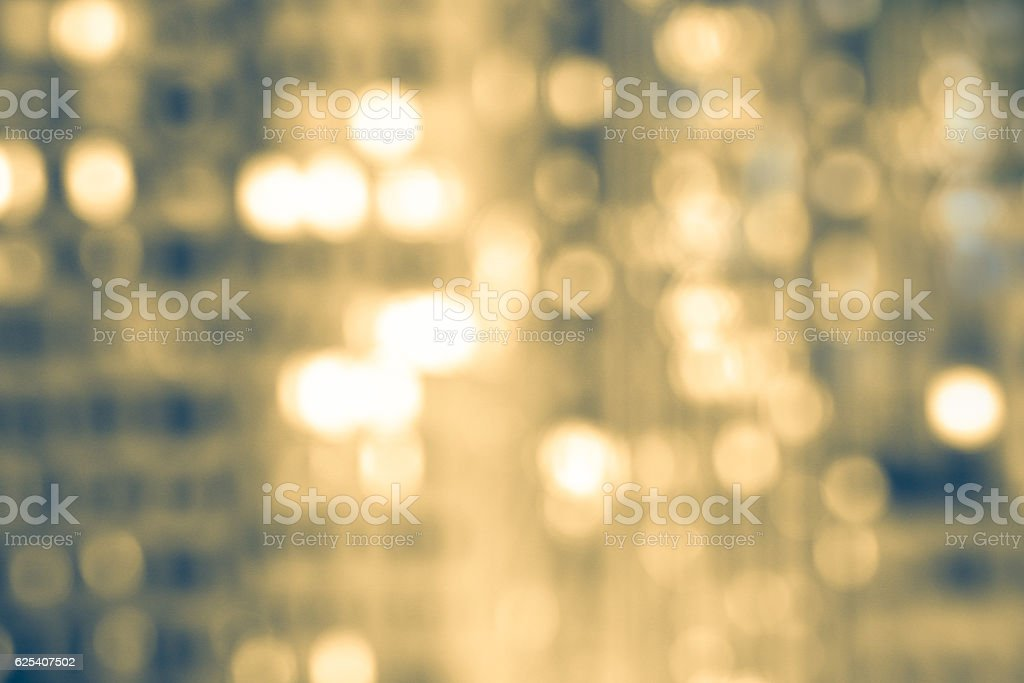 Defocused City Lights Background stock photo