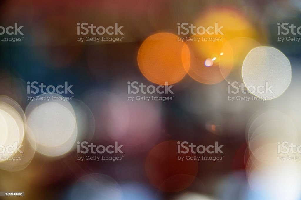 defocused colorful lights 2 stock photo