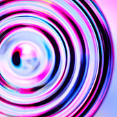 Defocused concentric circles