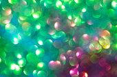defocused glitter lights background