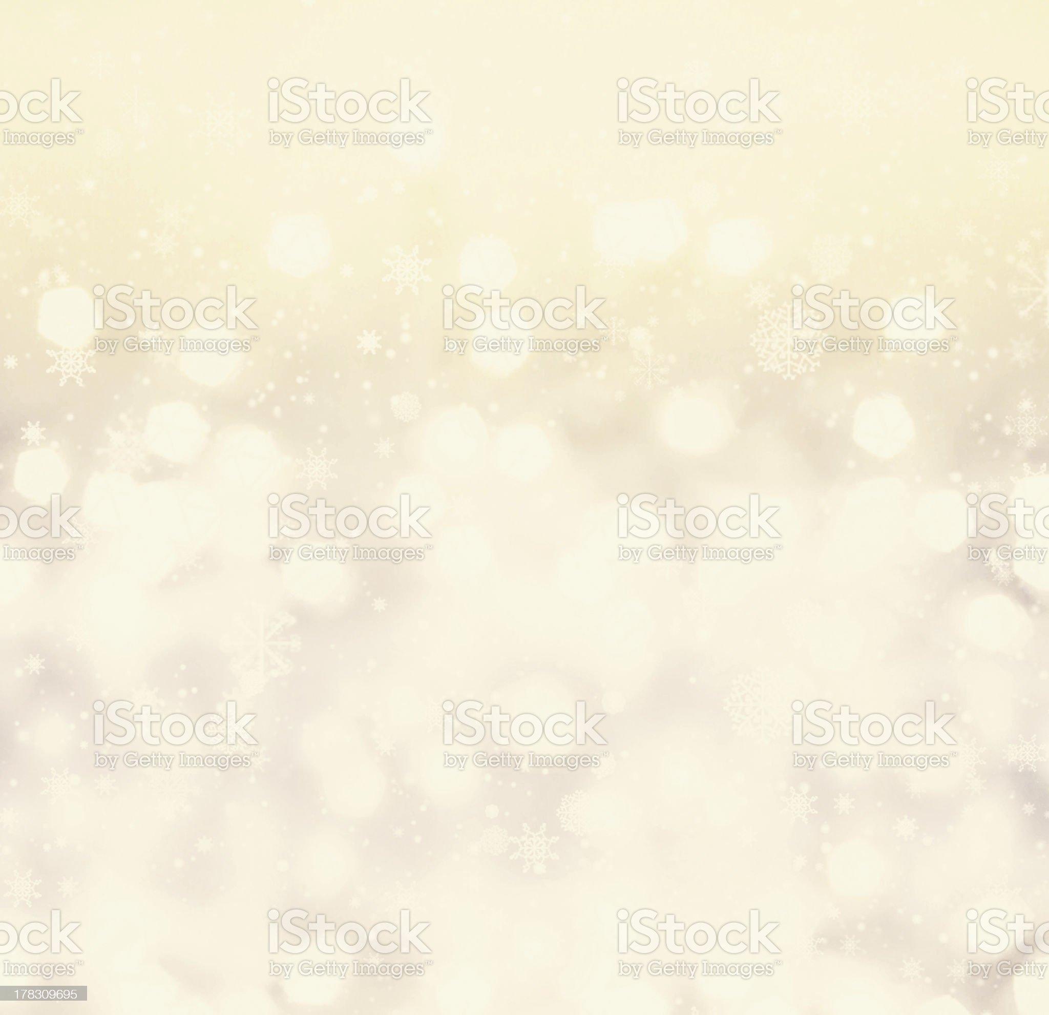 Defocused gold Bokeh light Vintage background.  Christmas back royalty-free stock photo