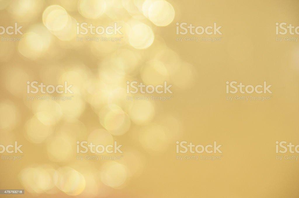 Defocused Gold Sparkles stock photo
