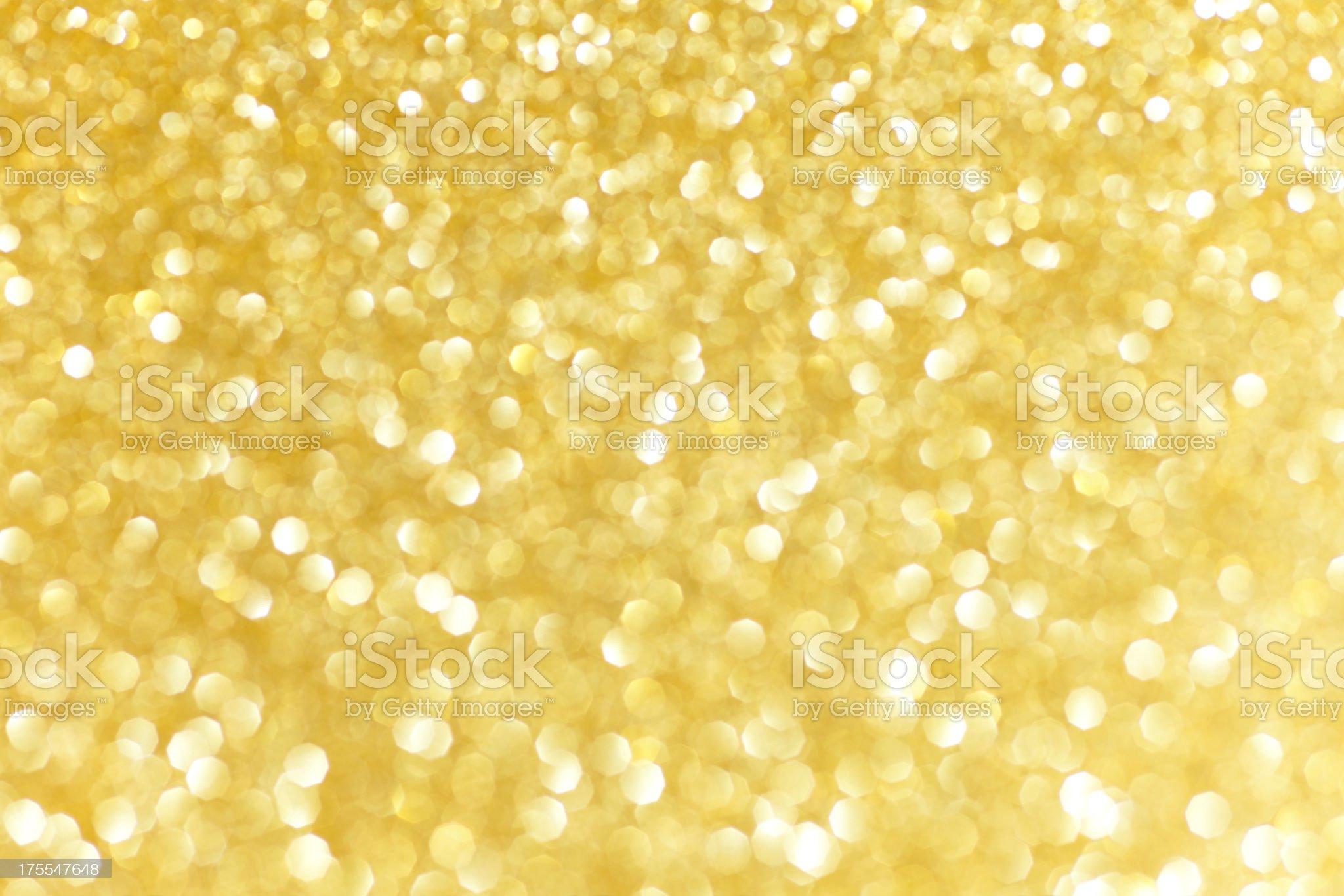 defocused golden glittering background royalty-free stock photo