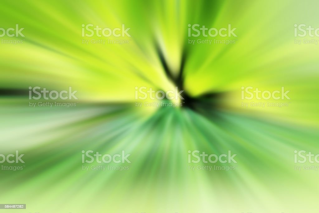 Defocused Green Abstract Burst Background 3XL stock photo