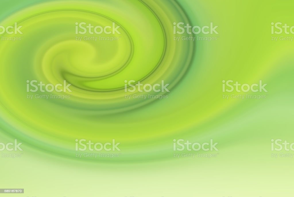 Defocused Green Abstract Spiral Background 3XL stock photo