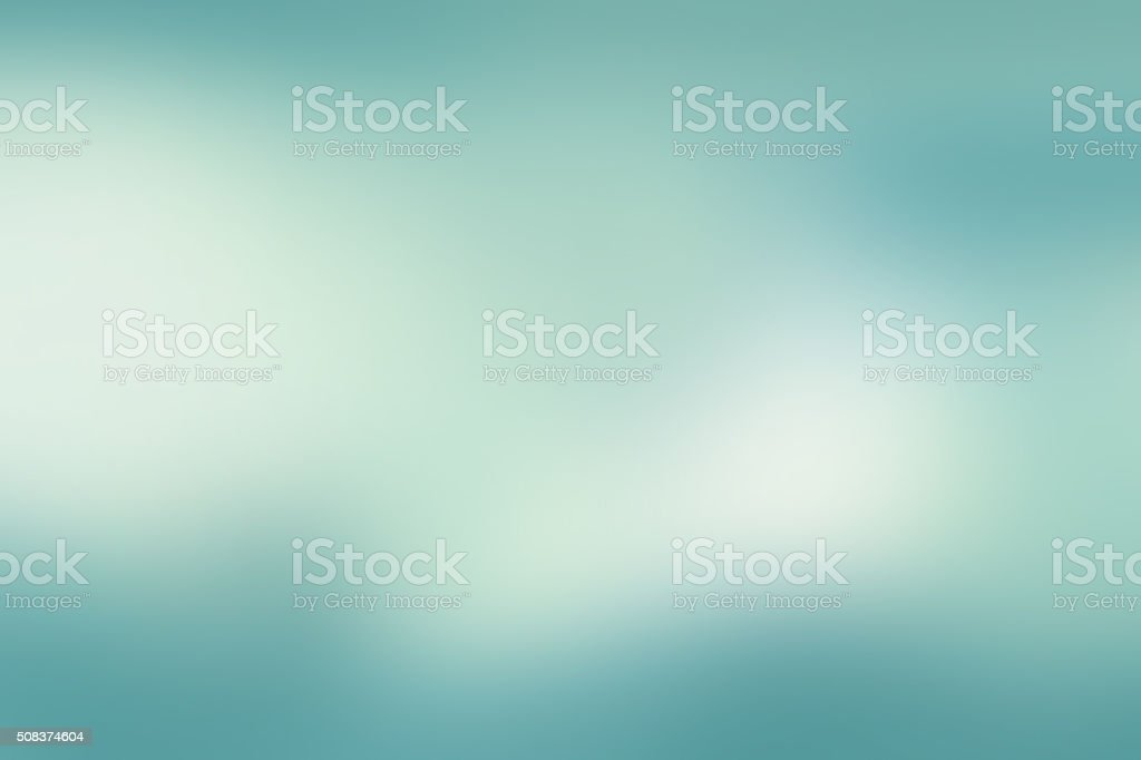 Defocused Green Blurred Abstract Background vector art illustration
