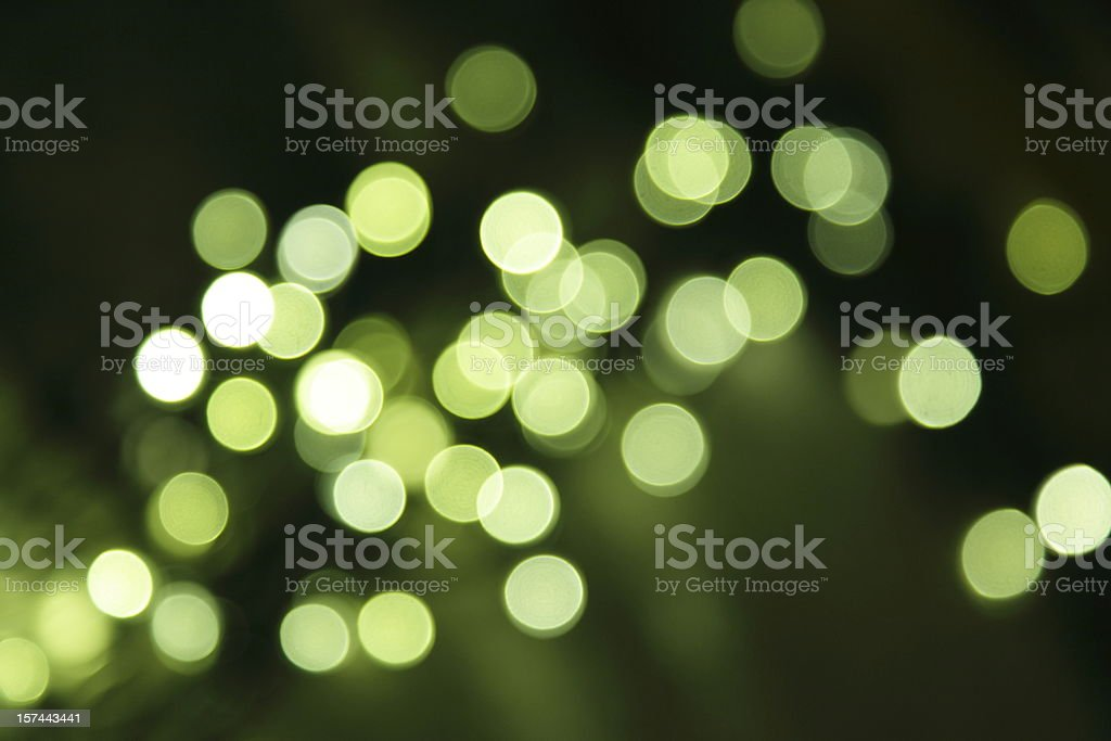 defocused light dots royalty-free stock photo