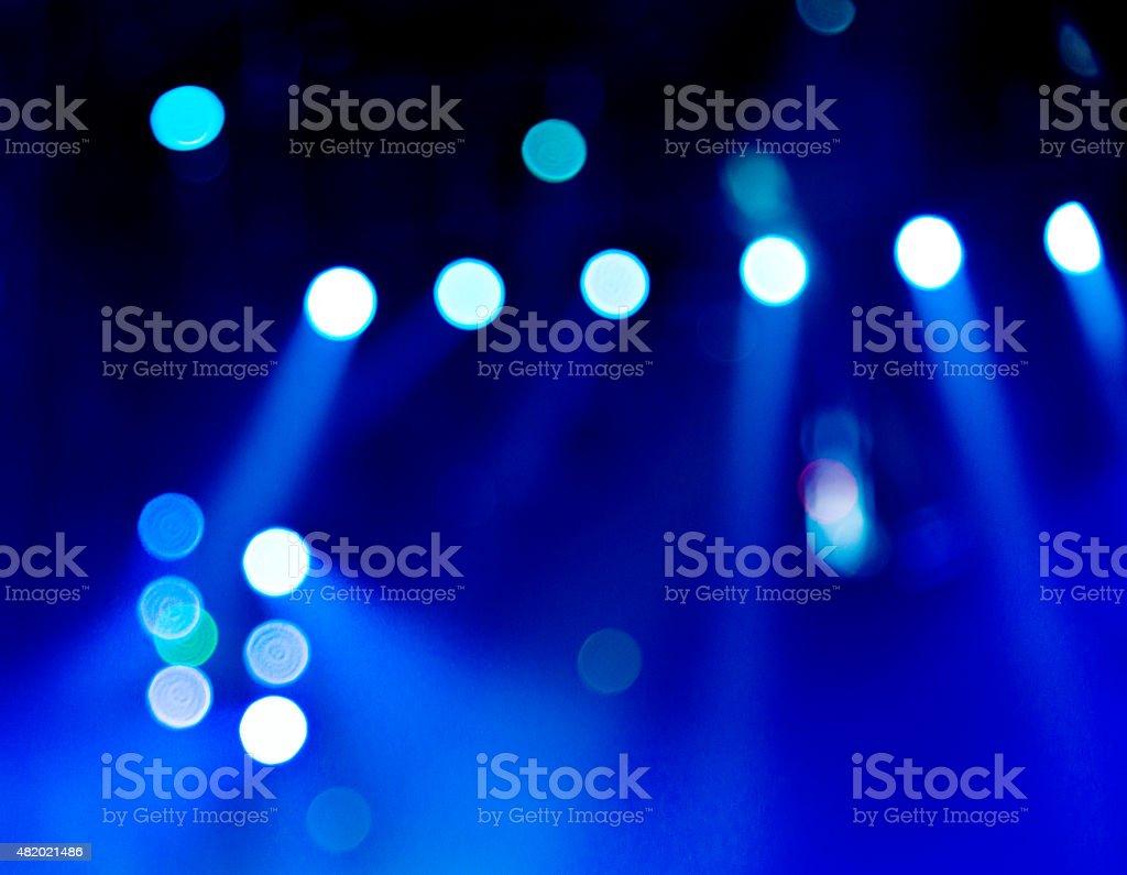 Defocused Light for background stock photo