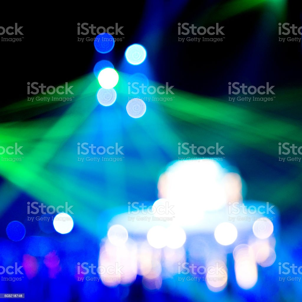 Defocused Light for background. stock photo