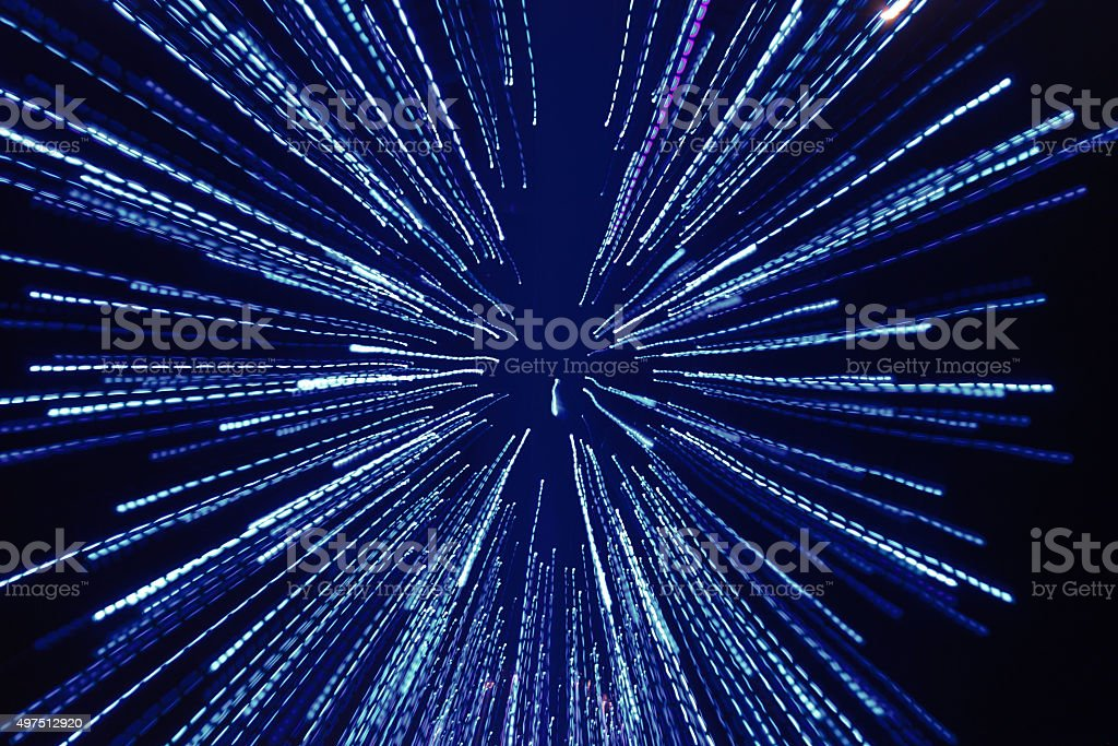 Defocused Light Reflections, Abstraction, Background stock photo