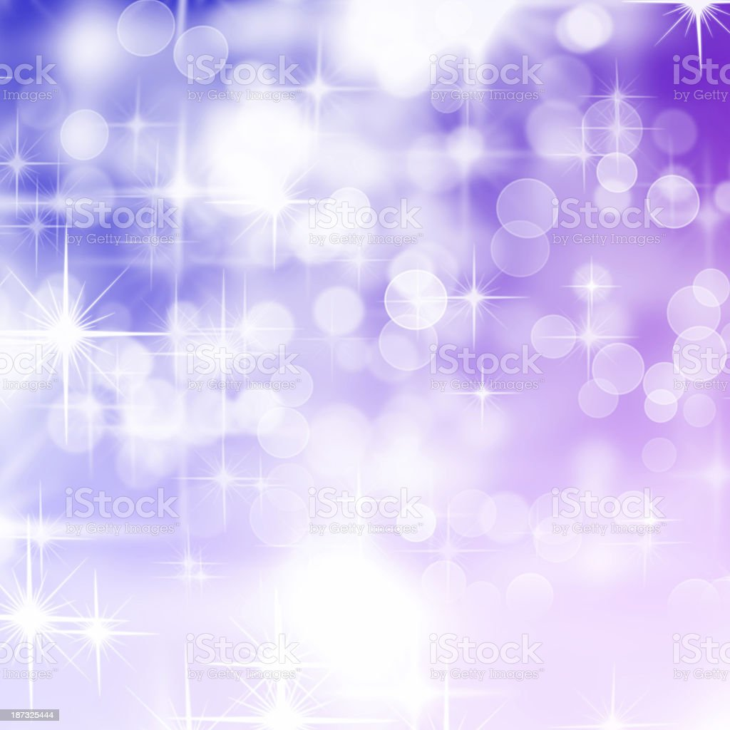 Defocused Lights and Sparkles royalty-free stock photo