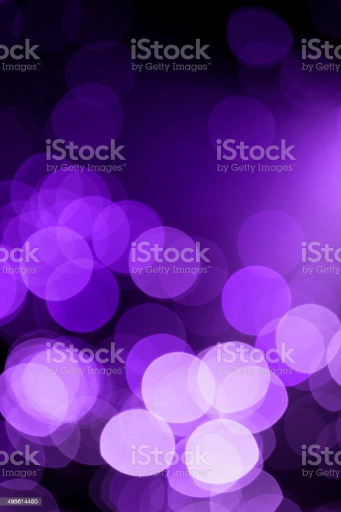 Defocused lights background (purple) stock photo