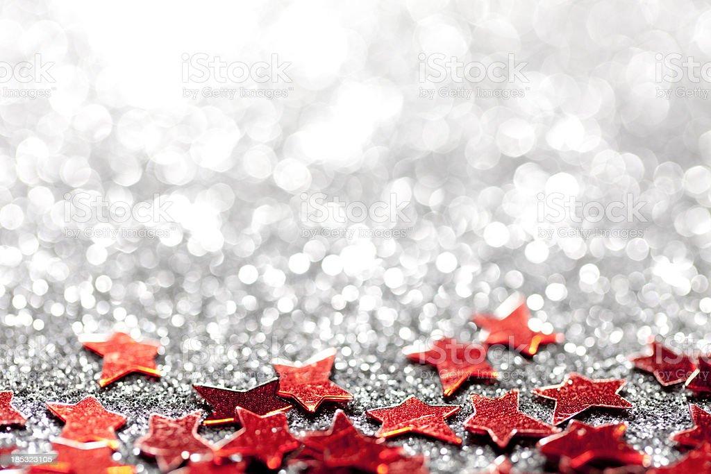 Defocused Lights Glitter Starts - Party Celebration royalty-free stock photo