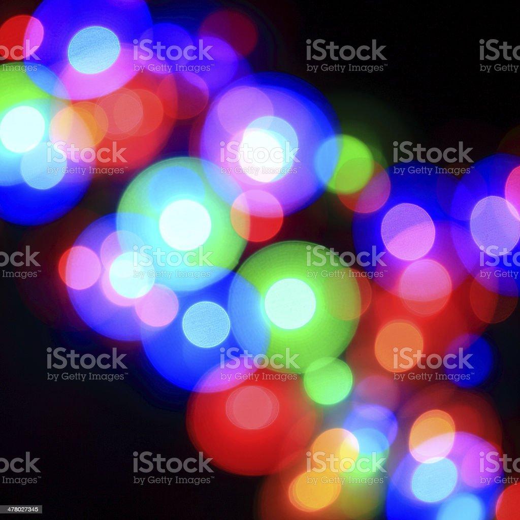 Defocused Lights Pattern stock photo