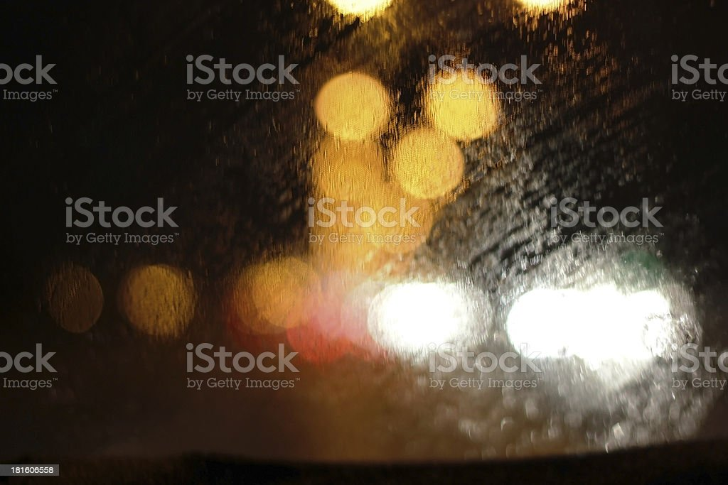 Defocused Lights royalty-free stock photo