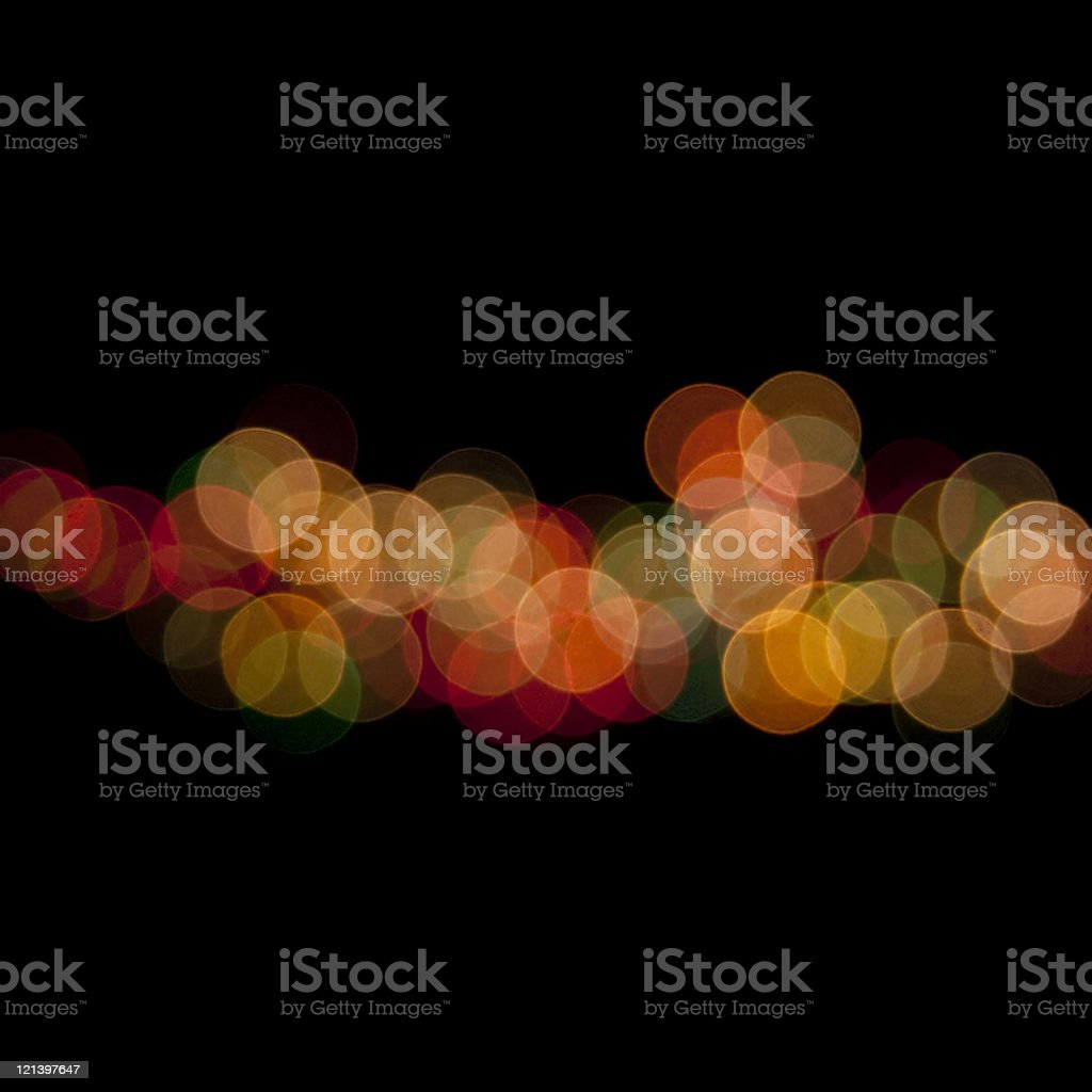 Defocused Lights with Copy Space royalty-free stock photo