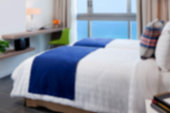 Defocused Modern Bedroom