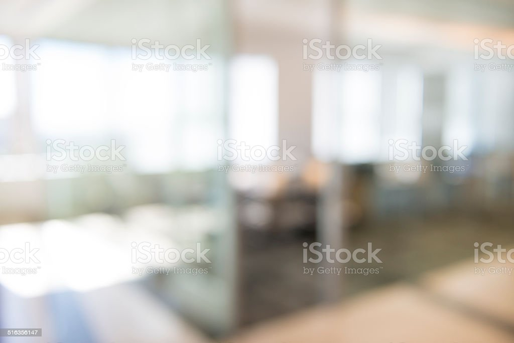 Defocused Office Background stock photo