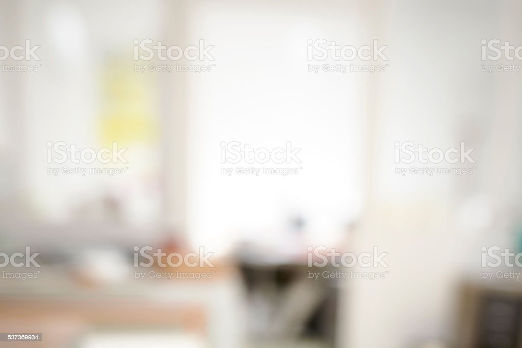 Defocused Office Interior stock photo