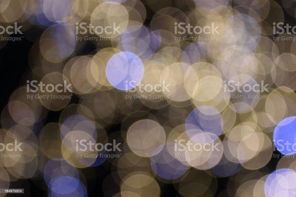 Defocused (Holiday Background) royalty-free stock photo
