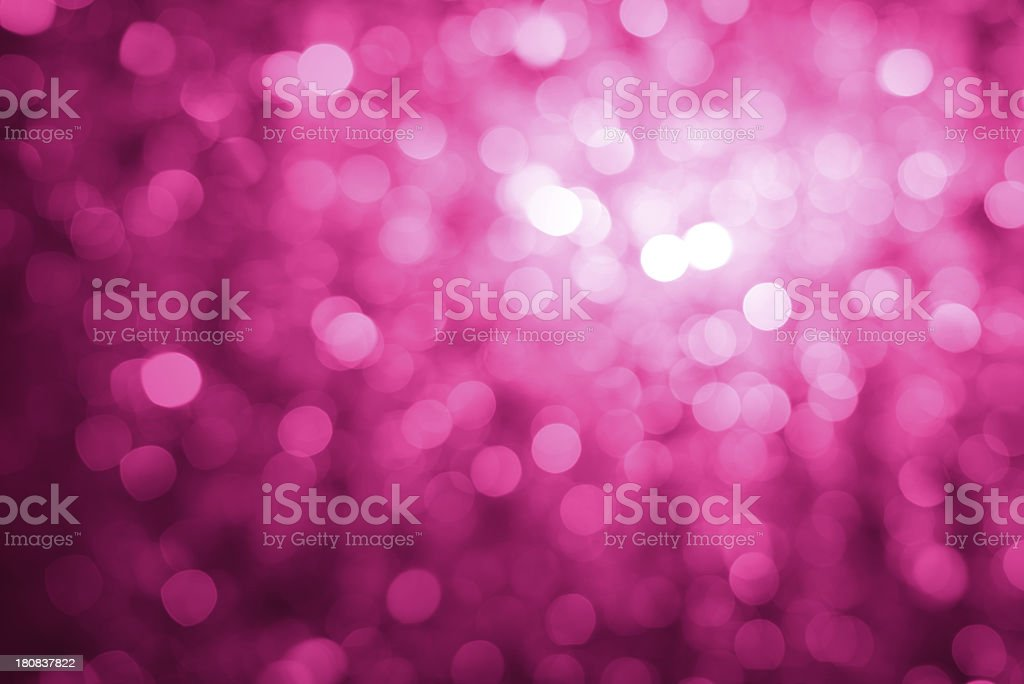 Defocused pink lights royalty-free stock photo